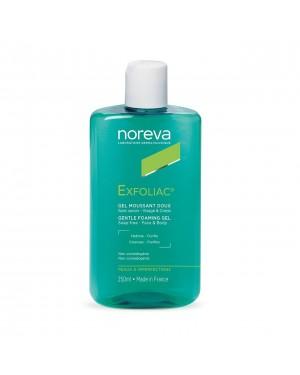 NOREVA EXFOLIAC GENTLE FOAMING GEL SOAP 250ML