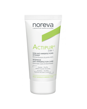 NOREVA ACTIPUR 3 EN 1 ANTI-IMPERFECTIONS DAY CREAM 30ML