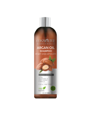 COSMOLIVE NATURAL HAIR SHAMPOO ARGAN OIL 400ML