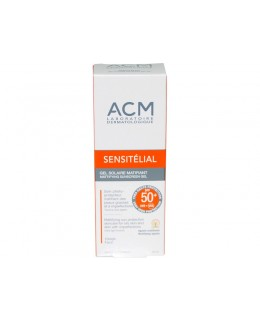 SENSITELIAL GEL SPF 50+ MATTIFYING