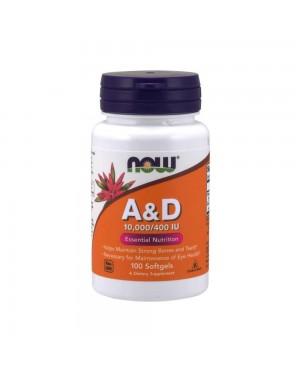 Vitamin A & D 10,000/400 IU Softgels