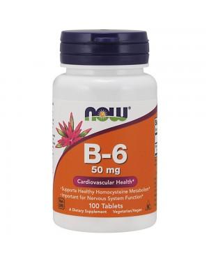 Vitamin B-6 50 mg Tablets