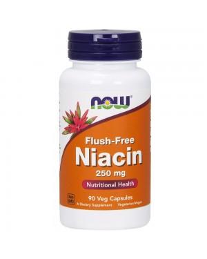 Flush-Free Niacin 250 mg Veg Capsules