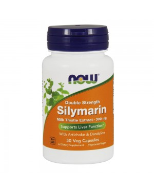 Silymarin, Double Strength 300 mg Veg Capsules