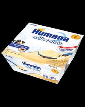 Humana-Puding Grize me vanilje